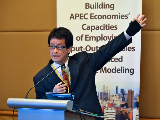 International Conference: Building APEC Economies' Capacities of Employing Input-Output Tables for Advanced Economic Modeling